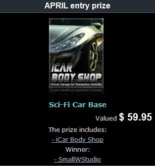 Sci-Fi Early Entry Winner - April