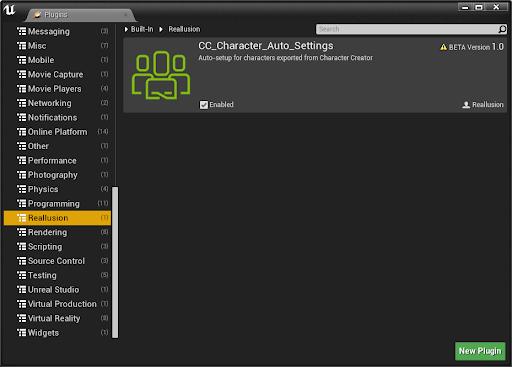 Special Notice: CC Unreal Auto-Setup Plugin (Beta 1 0)