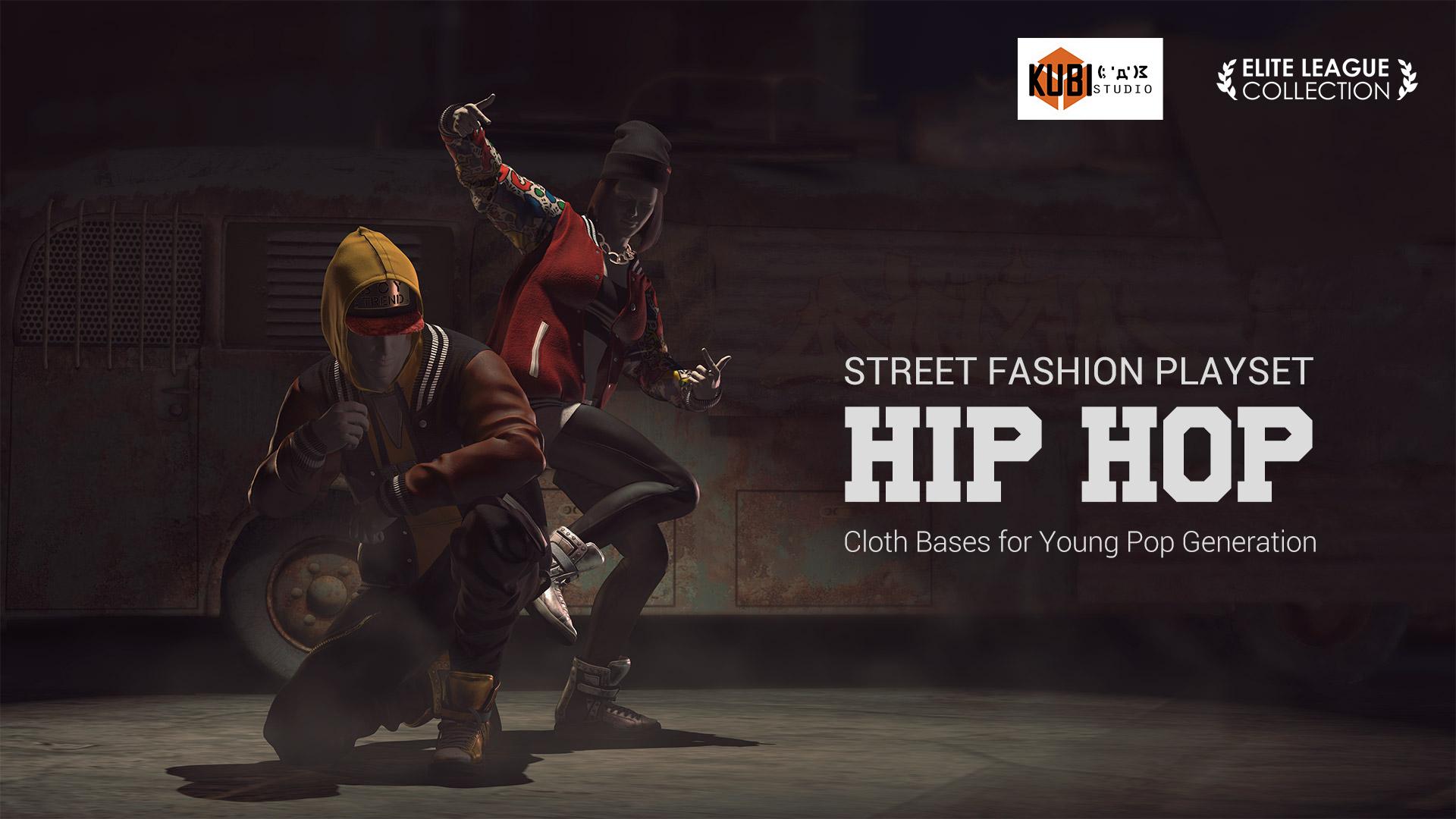 PBR] Street Fashion Playset - Hip Hop (2018/01)