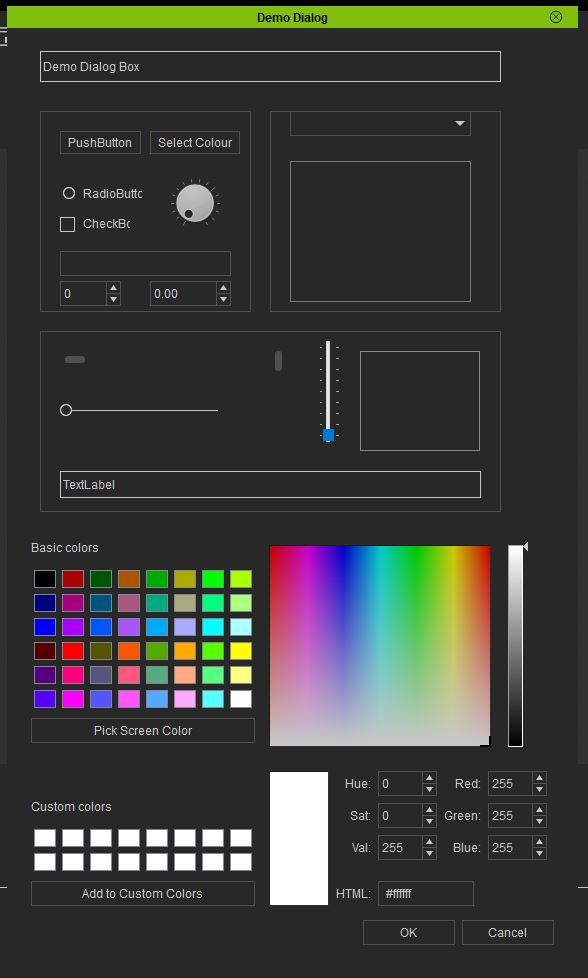 ColourDialog Box