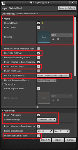 Special Notice: CC Unreal Auto-Setup Plugin (Beta 1 0)