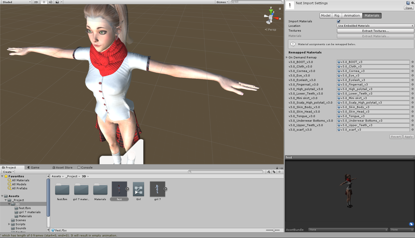 Textures missing in Unity