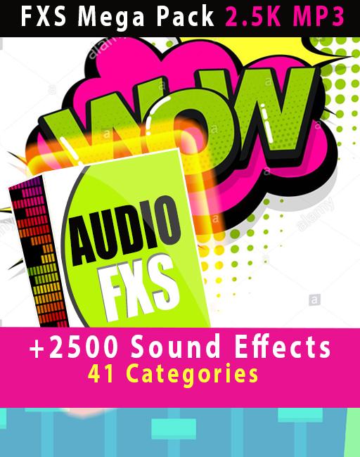 2500 Sound FXS MEGA PACK FOR DA 900 playlist with samples